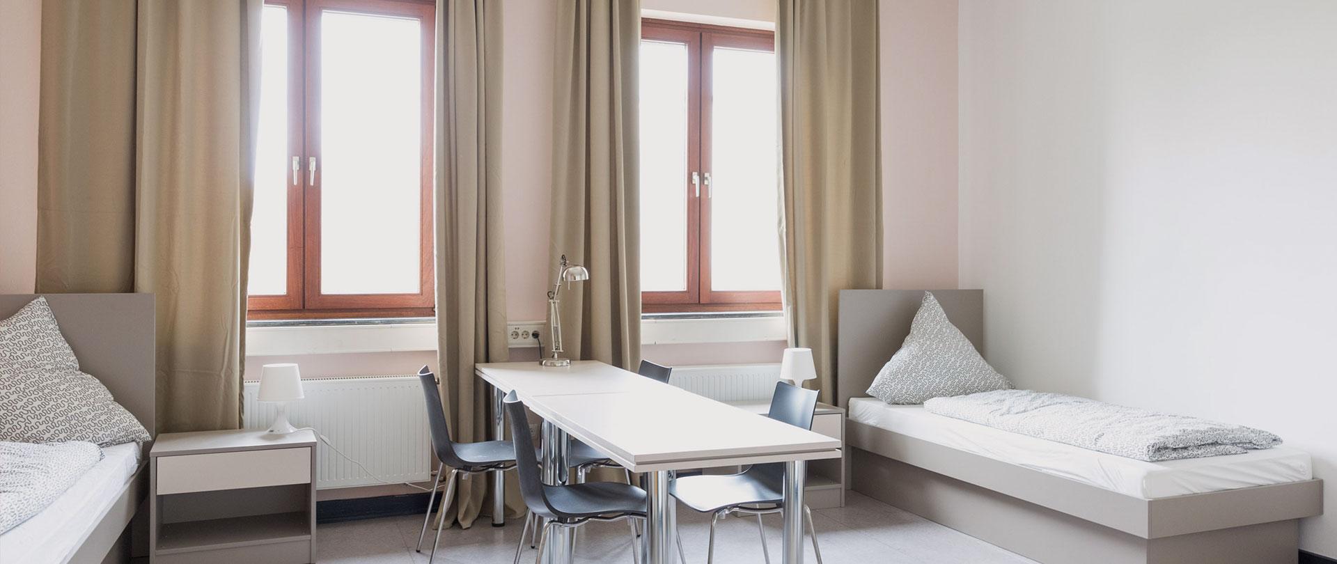 Gewerbepark Siegerland Boardinghaus Unterkunft Zweibettzimmer